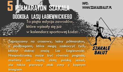 Półmaraton Szakala – Ostatni komunikat przed startem