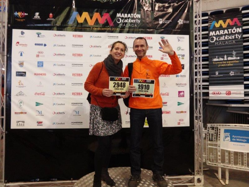 V Maraton Ciudad de Málaga 2014 – relacja