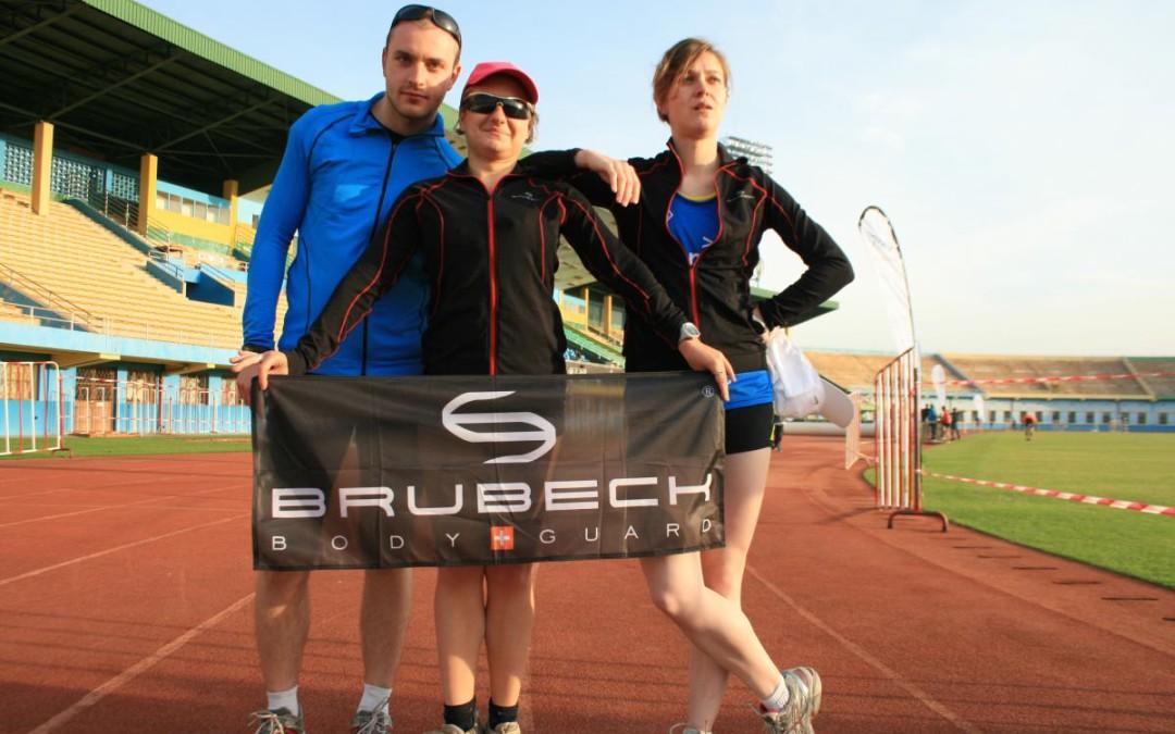 Test odzieży BRUBECK podczas Accenture Rwanda Marathon Expedition 2013