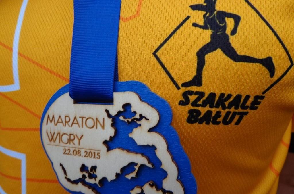 Jak pokonać dystans maratonu nie trenując – III Maraton Wigry 22.08.2015r
