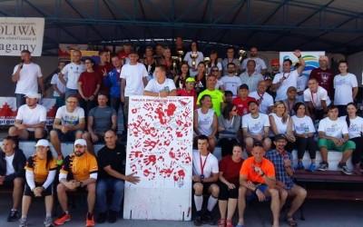 """Szakale Bałut idą do piekła, czyli 80km z Gdyni na Hel na trasie ultra maratonu """"Go to Hell 2016""""."""