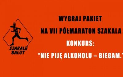 KONKURS NIE PIJĘ ALKOHOLU – BIEGAM.