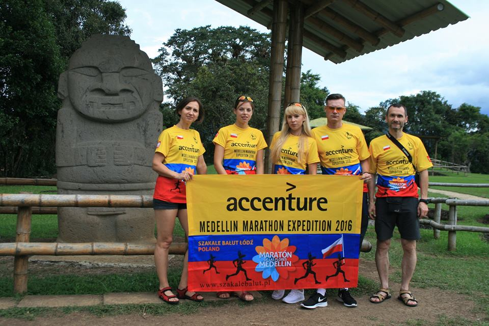 Listy z Kolumbii cz. I – Accenture Medellin Marathon Expedition