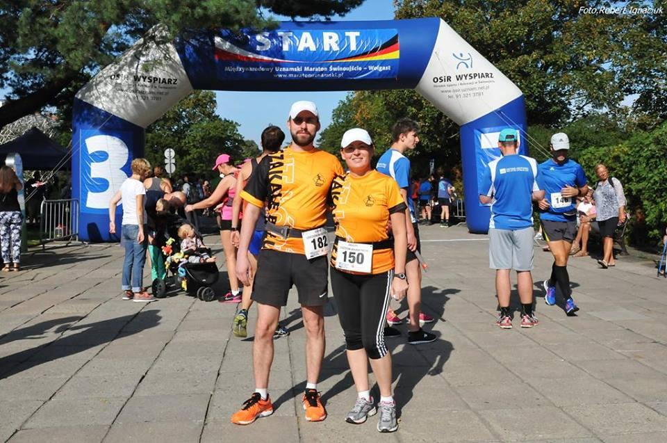 XXXVII Maraton Uznamski Świnoujście – Wolgast , czyli Szakale Bałut biegną z Polski do Niemiec