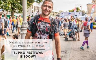 Promocyjne opłaty 8. PKO Festiwalu Biegowego w Krynicy tylko do końca maja!