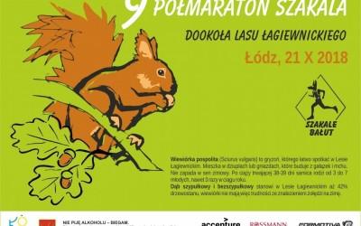 VIII Półmaraton Szakala – dodatkowe pakiety dla spóźnionych