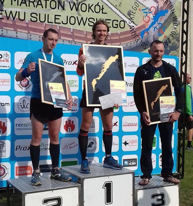 Maraton wokół Zalewu Sulejowskiego – sukcesy Szakali!