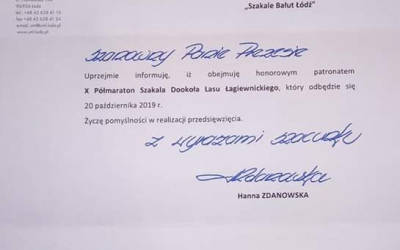 Patronat Prezydent Miasta Łodzi