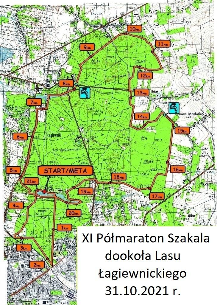 6. Półmaraton-Szkala-Mapa